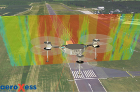 aeroxess - flight services for large-scale near-field probing